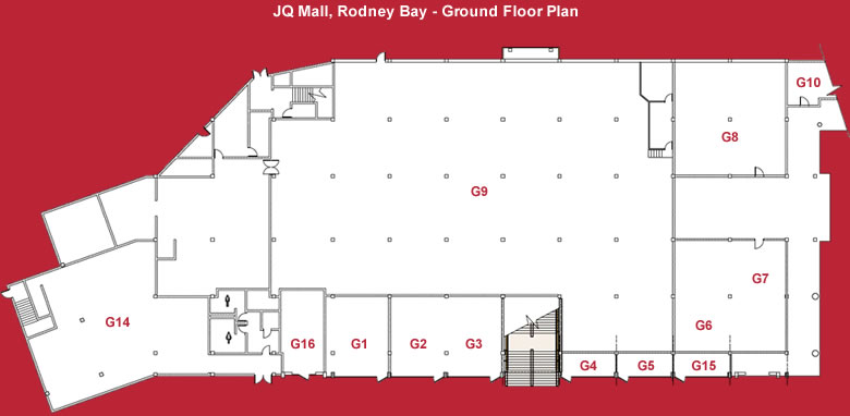 Mall Maps | JQ Rodney Bay Mall